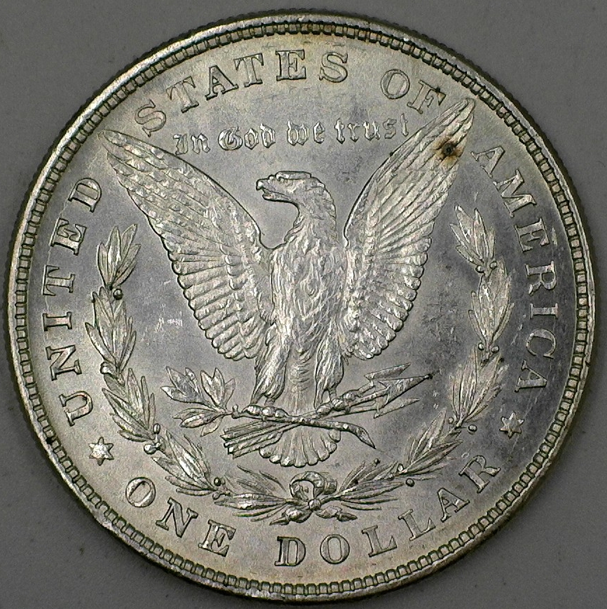1878 8 Tail Feather Morgan Dollar Good Ole Toms