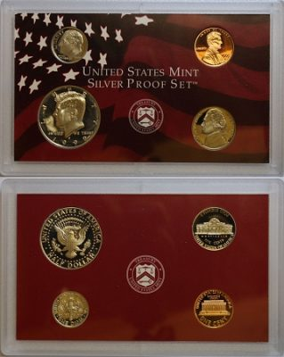 Silver Proof Mint Sets