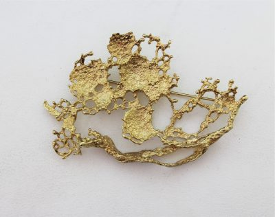 Gold Brooches and Pins