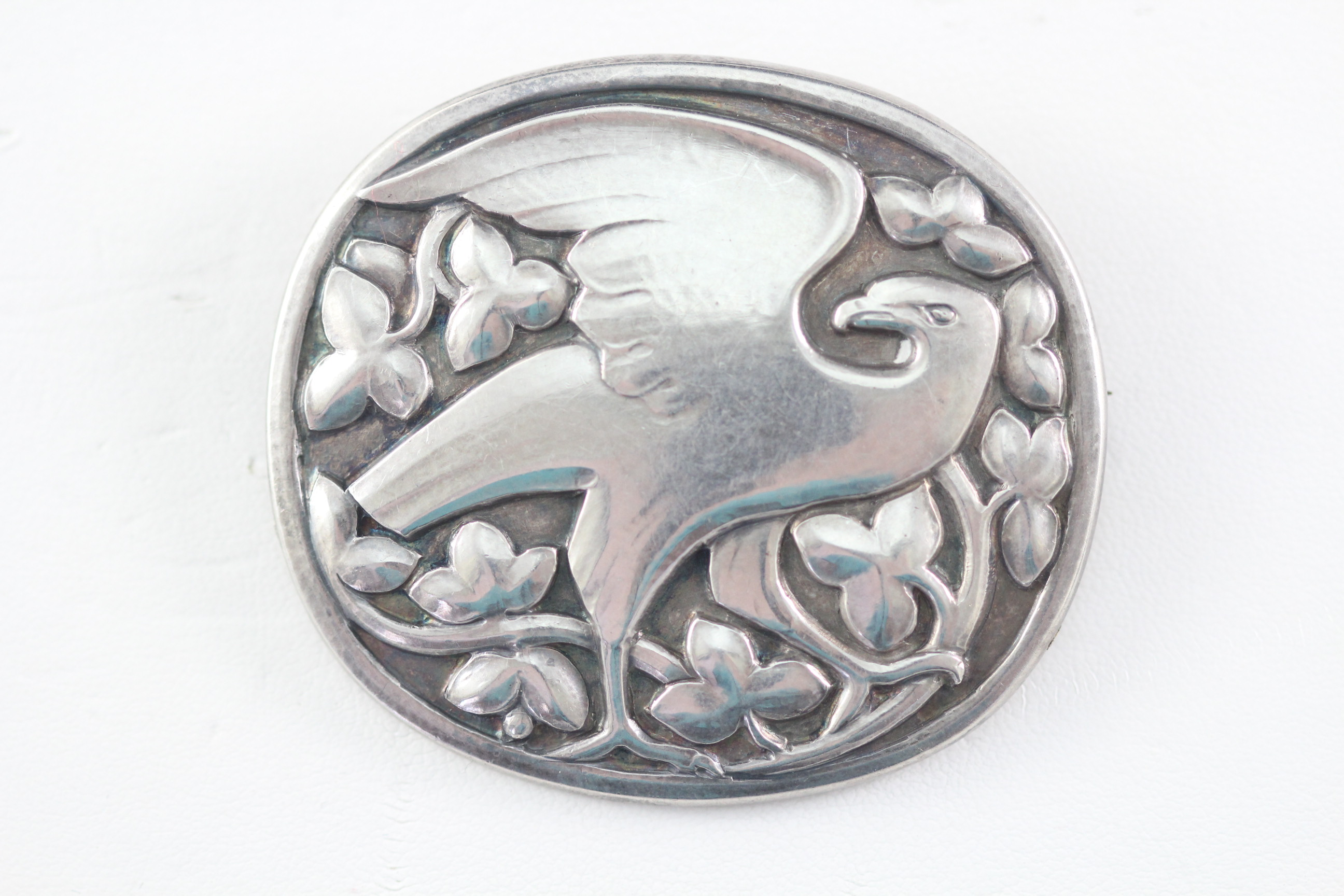 Silver Brooches and Pins