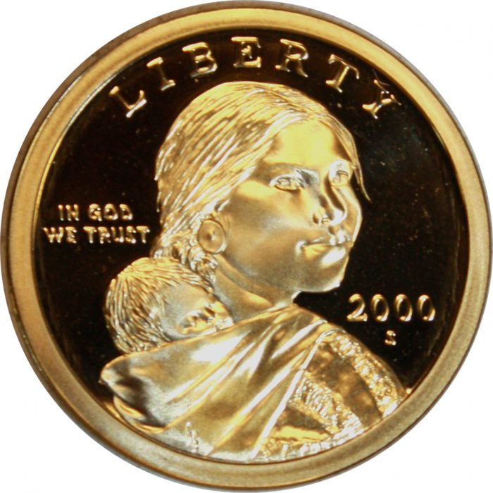2000 S Sacagawea Dollar Proof Good Ole Toms