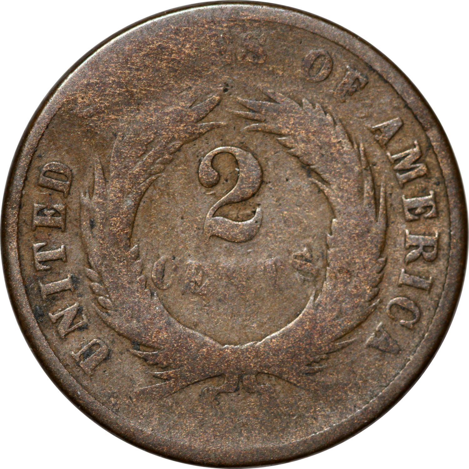 1871 2 cent coin value