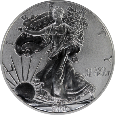 2006-P30 Silver Eagle front-2